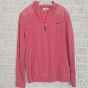 Vineyard Vines 3/4 Zip Shep Shirt Pullover